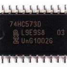 74HC573D