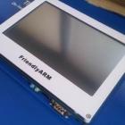 Tiny6410 + LCD 7 inch