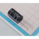 Capacitor 2200uF 25V C2745